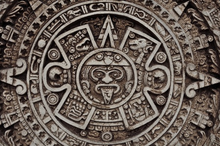 Ancient Mayan Calendar photo