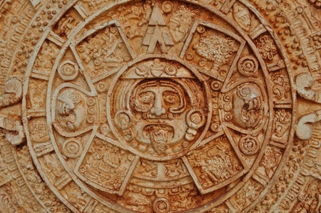 Mayan God Calendar Stock Photo - 11480765