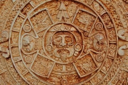 Mayan God Calendar photo