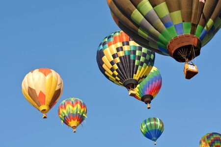 RENO, NEVADA USA - SEPTEMBER 10: The Great Reno Balloon Race on September 10 2011, in Reno Nevada. It is the largest free hot air ballooning event in the nation. Stock Photo - 11482246
