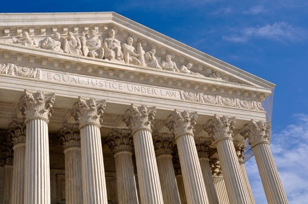 us government: Supreme Court of United States Stock Photo