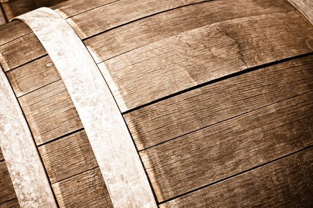 Oak Wine Barrel Stock Photo - 11741281