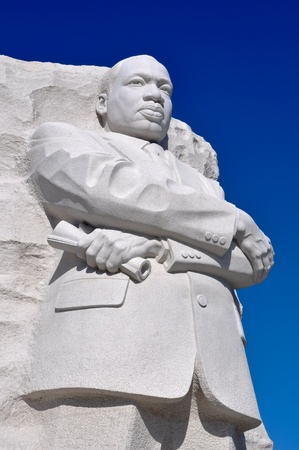Martin Luther King Statue Monument in Washington DC photo