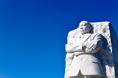Martin Luther King Statue Monument in Washington DC