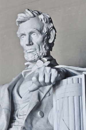 abraham lincoln: Lincoln Memorial in Washington DC