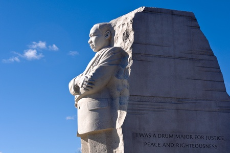 Martin Luther King Memorial in Washington DC photo