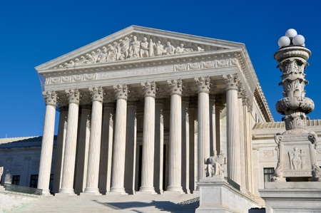 constitution: Supreme Court of United States Stock Photo