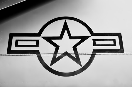 airforce: US Airforce Symbol Editorial