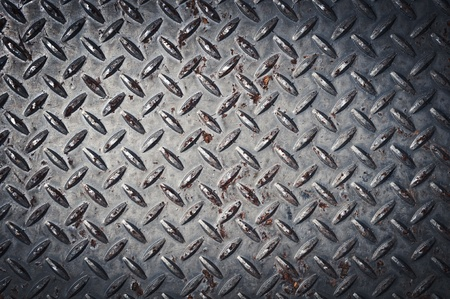 metallic grunge: Diamond Plate Background