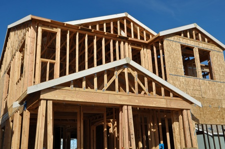 New Home Under Construction Stock Photo - 12271863