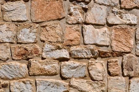 stone wall: Old Tan Stone Background
