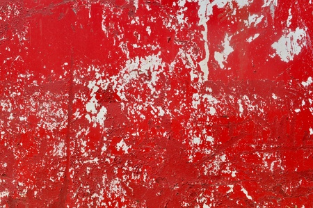 Red Metal Textured Background Stock Photo - 12234304