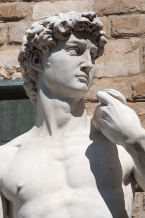 David Statue in  Florence Italy photo