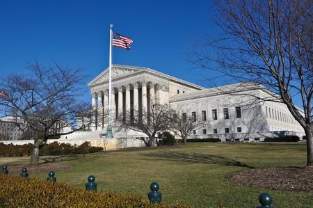 Supreme Court Building in Washington DC photo