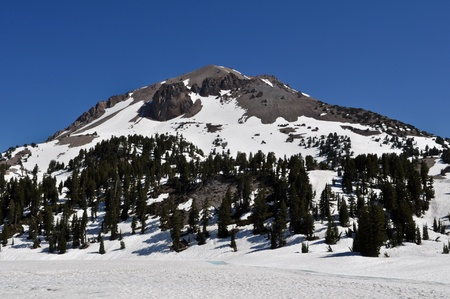 vulcanology: Lassen National Volcanic Park Stock Photo