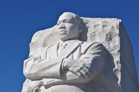 Martin Luther King socha památník ve Washingtonu DC Reklamní fotografie