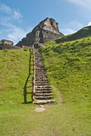 Mayan Ruin - Xunantunich in Belize photo