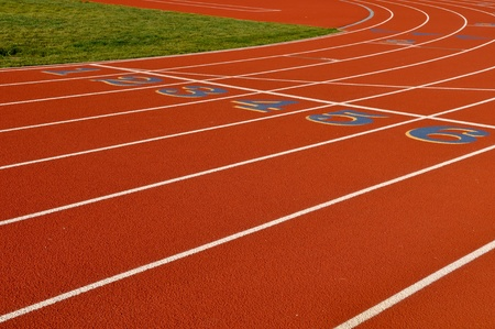 Running Track Background photo