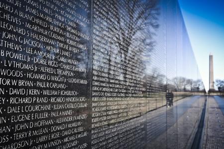 dc: Vietnam War Memorial a Washington DC
