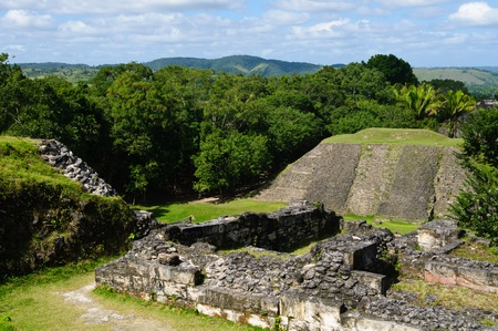 Xunantunich Mayan Ruin in Belize photo