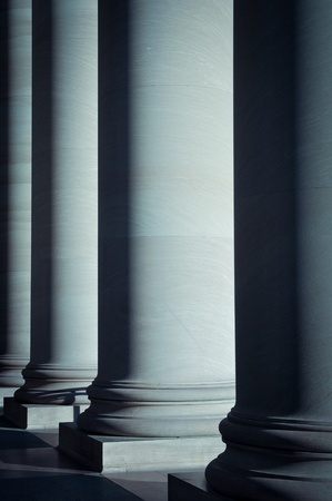 Pillars of Law and Education photo