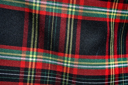 Plaid Scottish Kilt photo