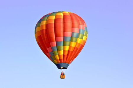 air: Hot Air Balloon Stock Photo