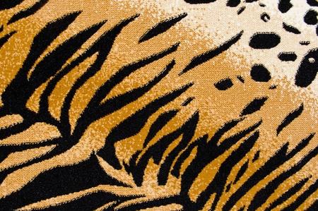 Tiger Cheetah Print Rug Background photo