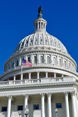 congressional: Washington DC Capitol Hill Dome Stock Photo