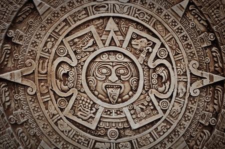 Maya-Kalender Lizenzfreie Bilder
