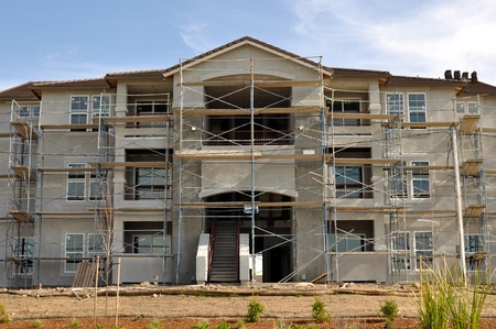 Apartment Komplex im Bau