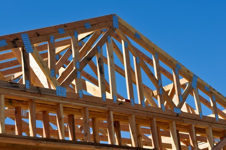New Home Under Construction Stock Photo - 12911576