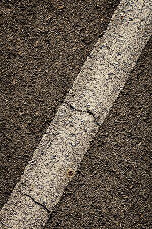 diagonal: Diagonal Stripe in Asphalt