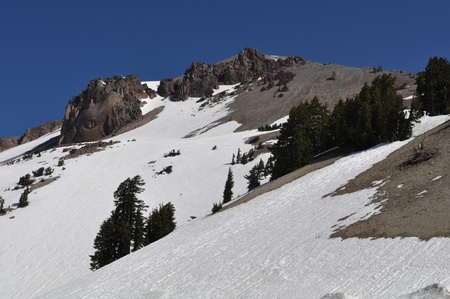 vulcanology: Mount Lassen