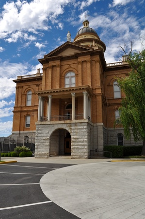 constitutional law: Auburn Courthouse in California