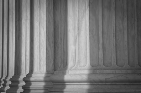 supreme court: Stone Pillars