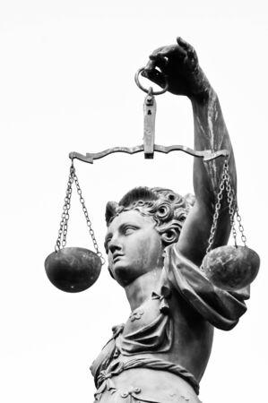 giustizia: Signora di giustizia Archivio Fotografico