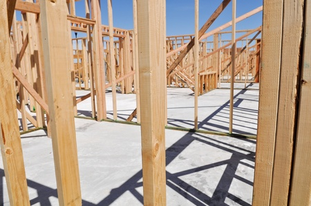 New Home Under Construction Stock Photo - 12912678