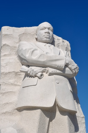 Martin Luther King Statue in Washington DC photo