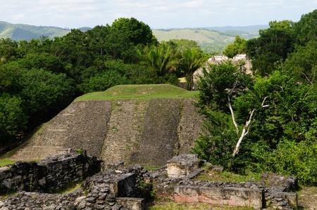 Xunantunich Belize Mayan Temple photo
