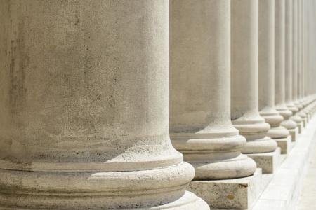 Pillars of Law and Justice 版權商用圖片