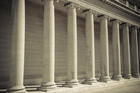 Säulen der Recht und Gerechtigkeit