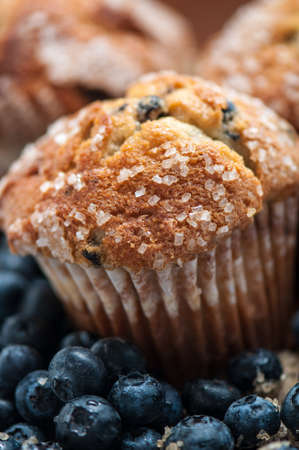 baked goods: Blueberry Muffin