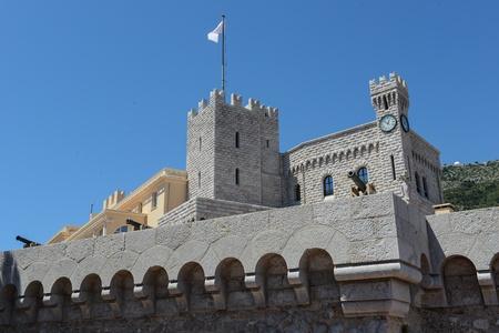 crenelation: Monte Carlo Monaco Castle