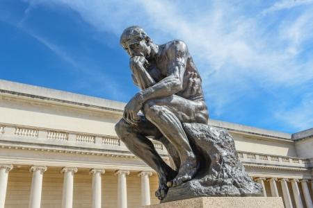 Rodin Denker-Statue