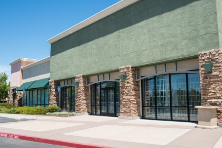 storefront: Shopping Center Strip Mall