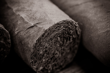Cigar Close Up Stock Photo