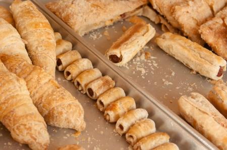 Breakfast Croissant Stock Photo