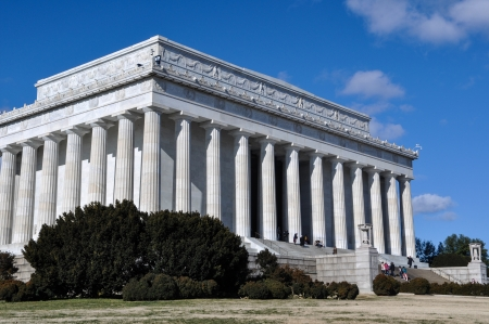 lincoln: Lincoln Memorial in Washington DC