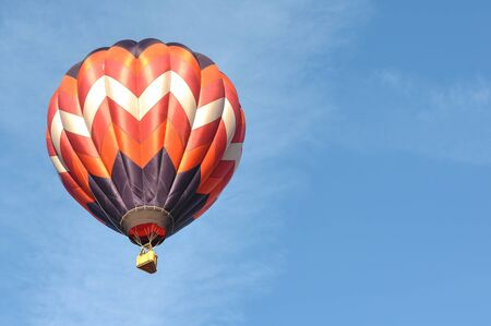 Hot Air Balloon at the Reno Great Race Stock Photo - 16403251
